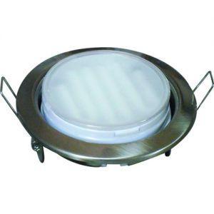 Точечный светильник Ecola GX53-H4 Сатин