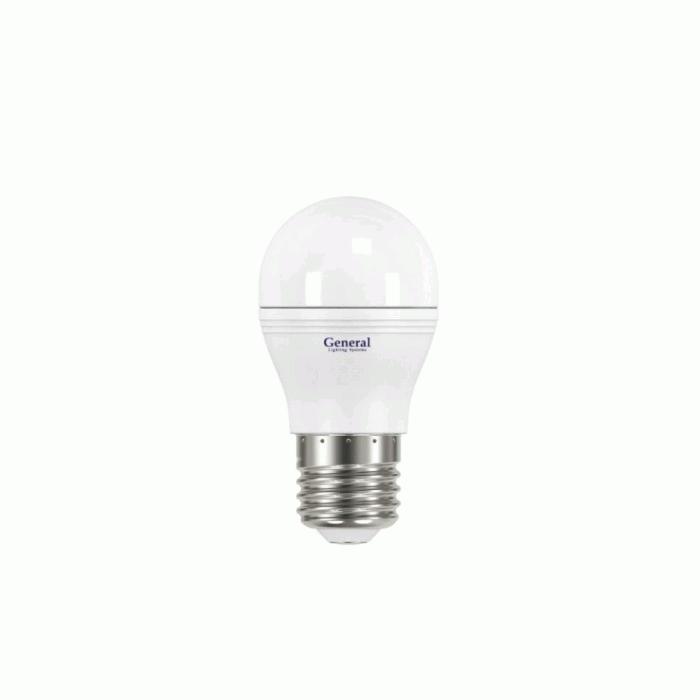 Светодиодная лампа General E27 7W 7500K