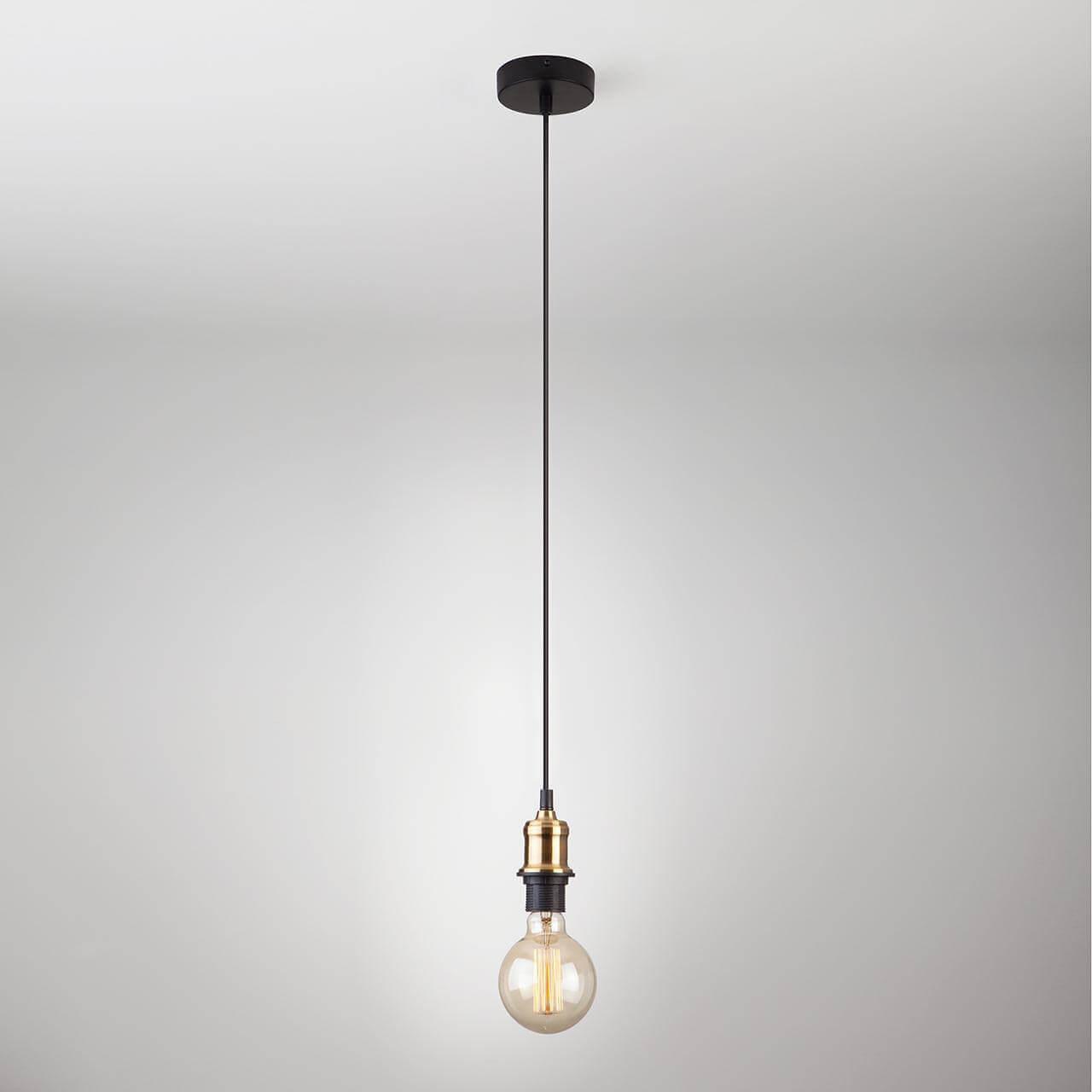 Подвесной светильник Eurosvet 40127/1 античная бронза