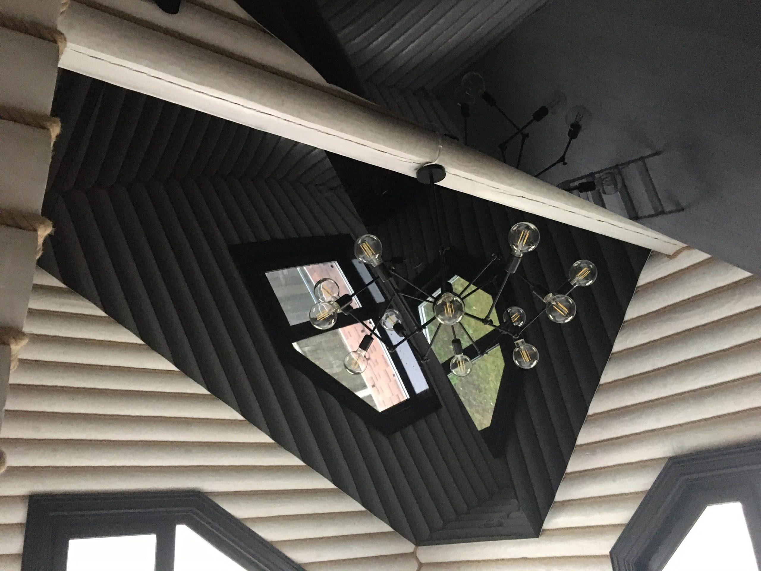 красивые натяжные потолки под ключ