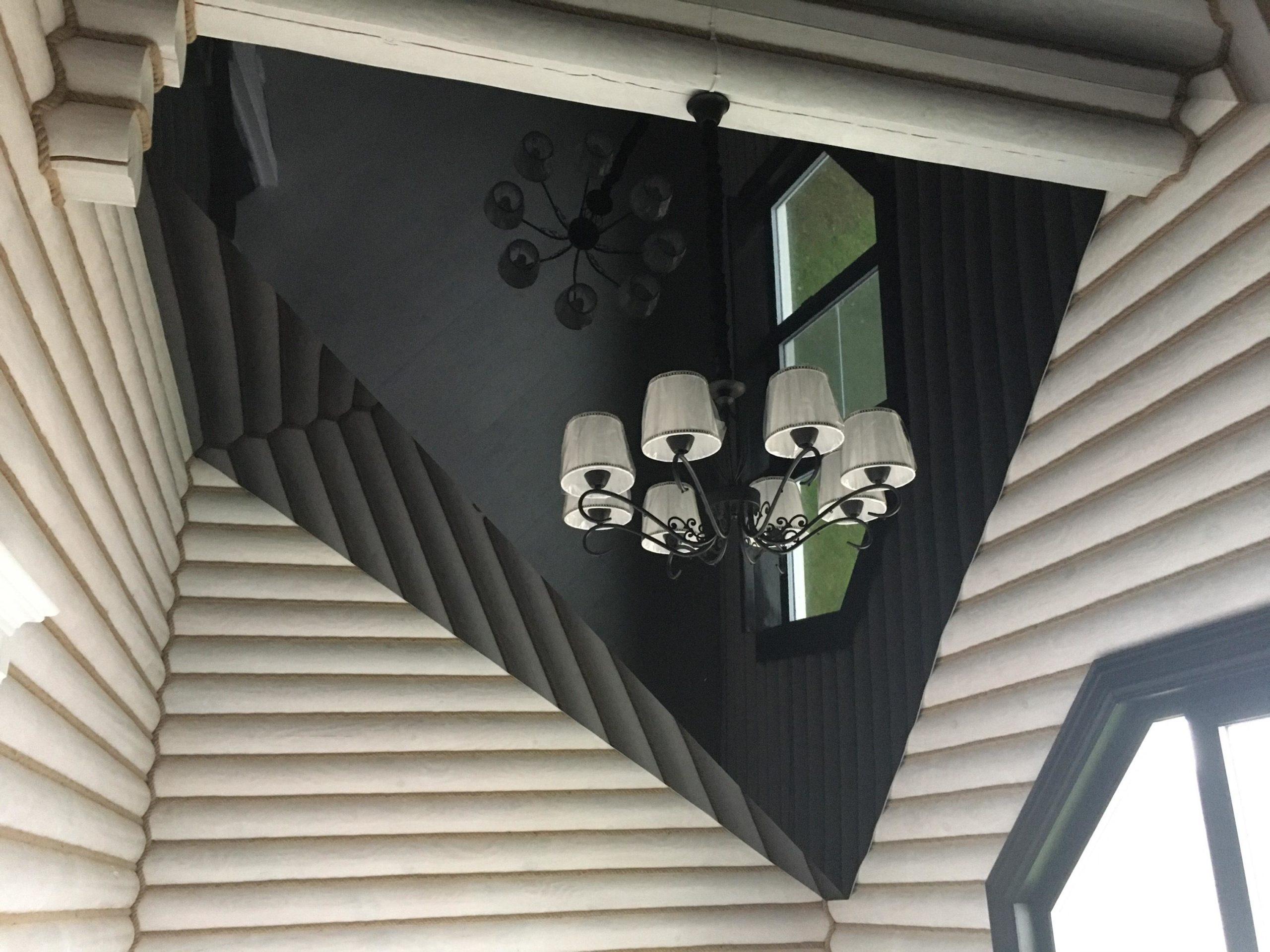 ковров натяжные потолки установка